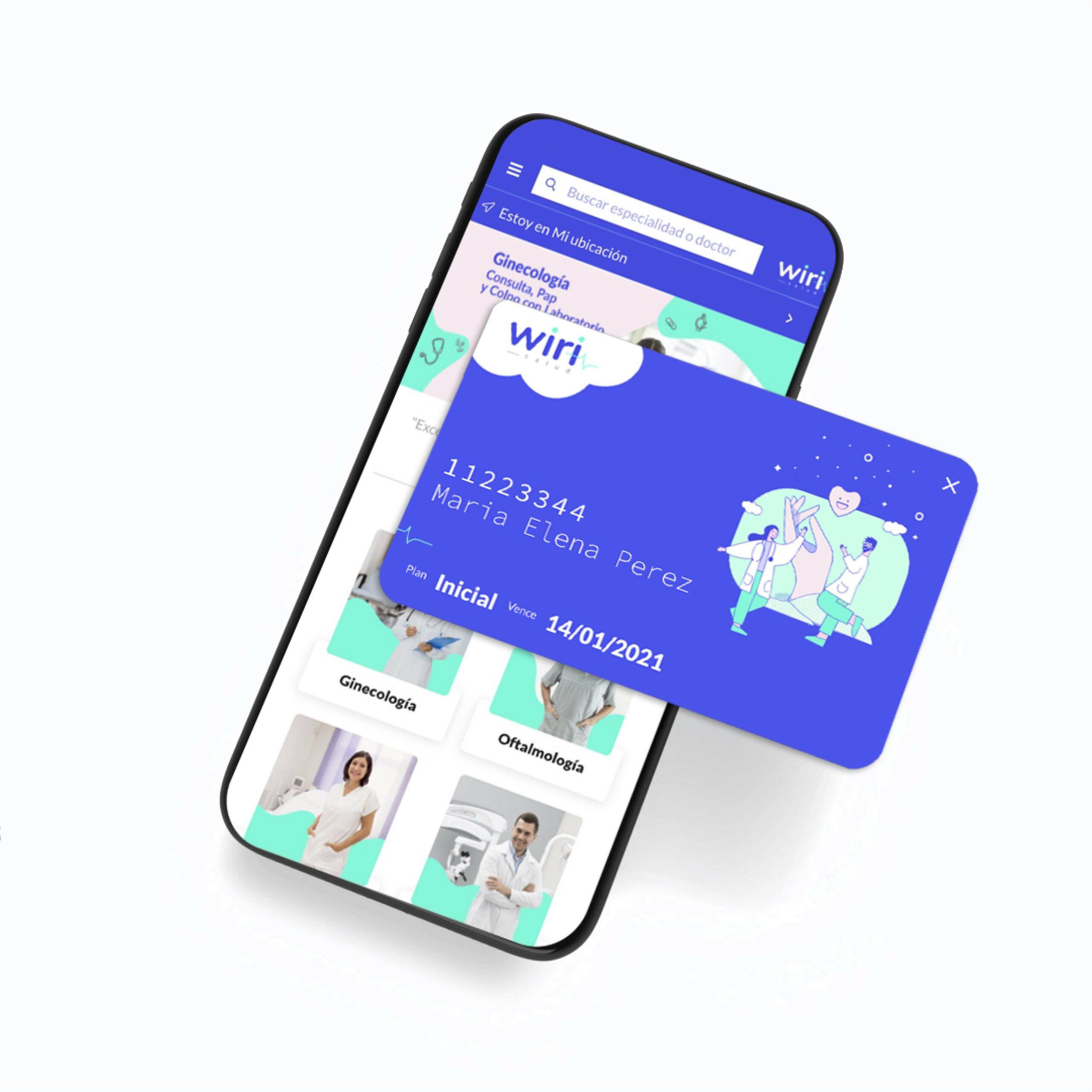 Credencial en farmacias afiliadas a Wiri Salud