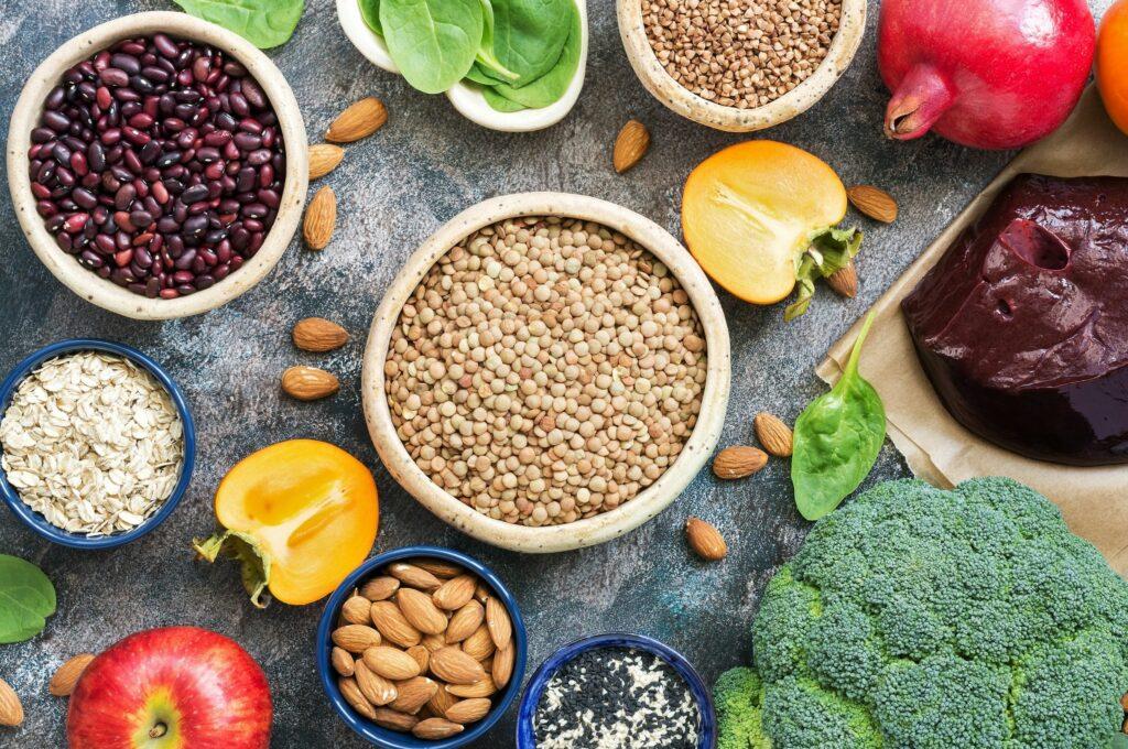 Anemia por falta de hierro en vegetarianos