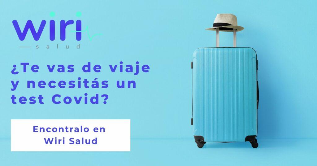 Restricciones y requisitos para poder viajar en Argentina: la guía definitiva de Wiri Salud. Sabemos que viajar en tiempos de Covid-19 puede ser complicado, pero acá te dejamos la guía definitiva para hacertelo más fácil. Recordá que en muchos lugares te pedirán PCR para viajar, encontralo en Wiri Salud y accedé a tu test Covid por menos  https://ar.wiri.la/test-covid19